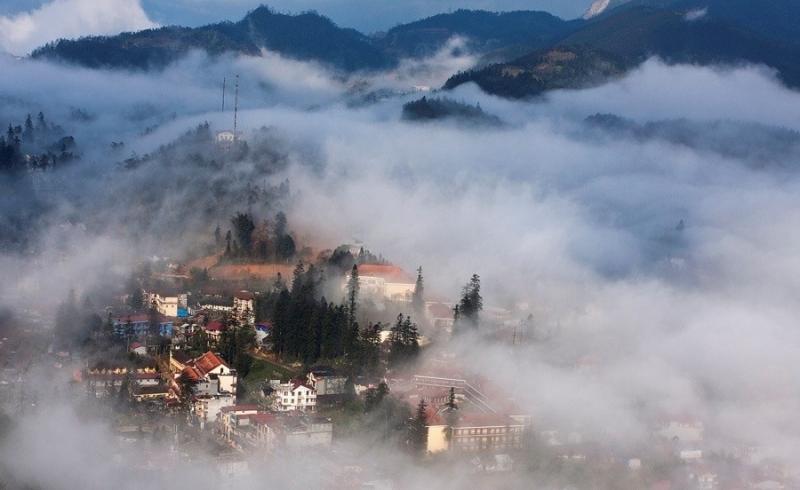 Thành phố sương mù Sa Pa