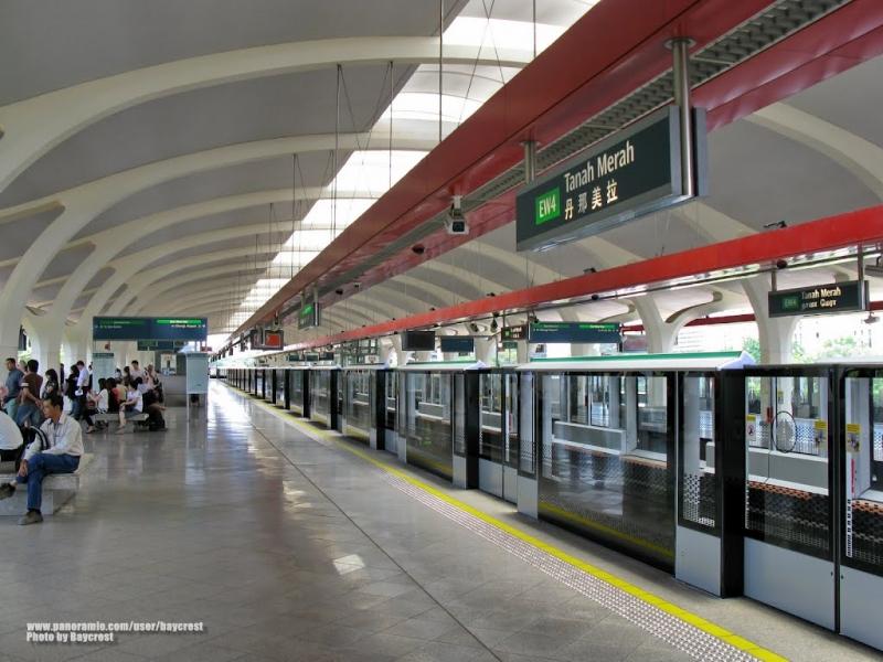Tàu điện ngầm là phương tiện đi lại chính của Singapore (Nguồn: Sưu tầm)