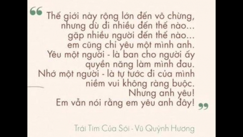 Trái tim của sói - Vũ Quỳnh Hương