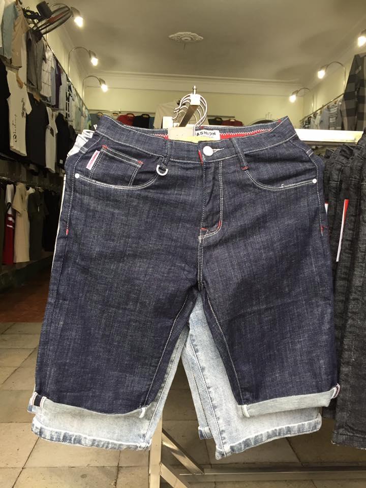 quần sooc jeans