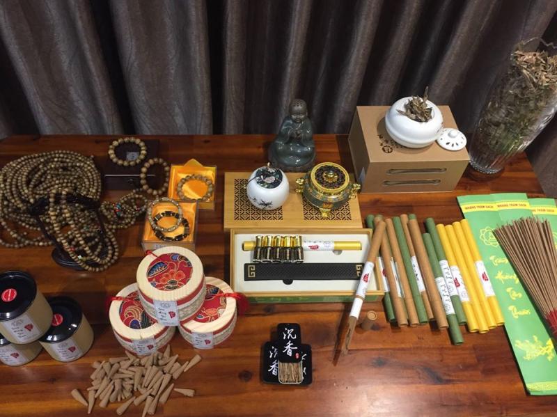 Một số sản phẩm của Trầm hương Tâm Thuần