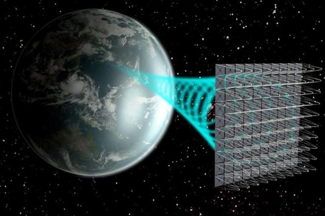 Trạm năng lượng mặt trời ngoài không gian