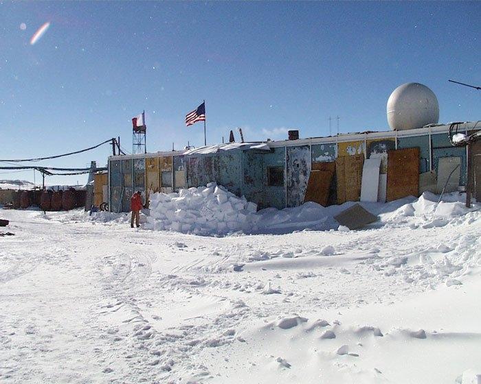 Trạm Vostok, Nga là nơi có nhiệt độ thấp nhất trên thế giới