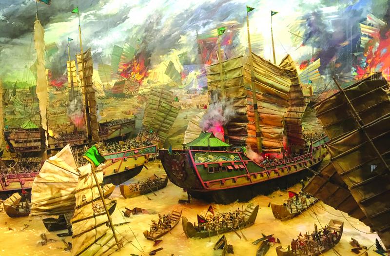 Trận Bạch Đằng 938 và chiến thuật đóng cọc gỗ kinh điển