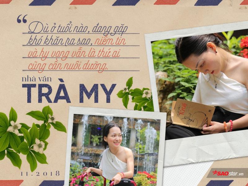 Trần Trà My: Nhà văn của nghị lực