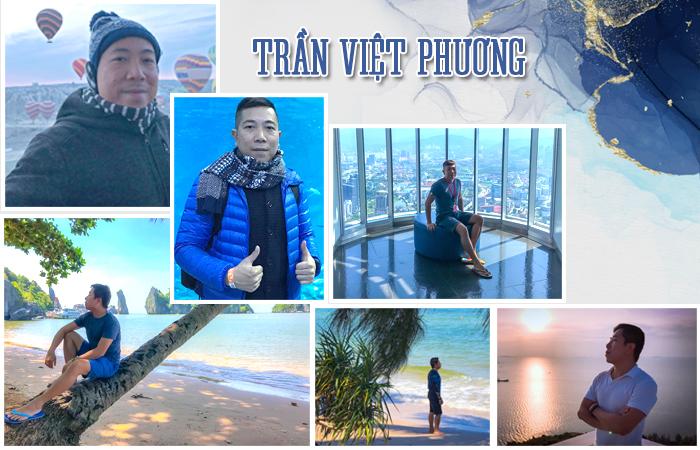 Trần Việt Phương – Travel blogger và Founder Yêu Máy Bay