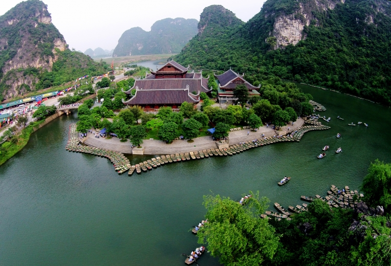 Quần thể Tràng An- Khu sinh thái được UNESCO công nhận.