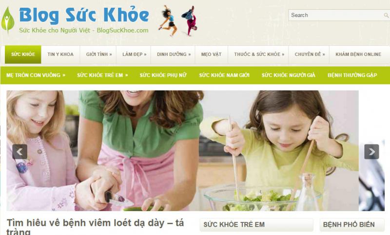 Top 10 website sức khỏe nổi tiếng ở Việt Nam
