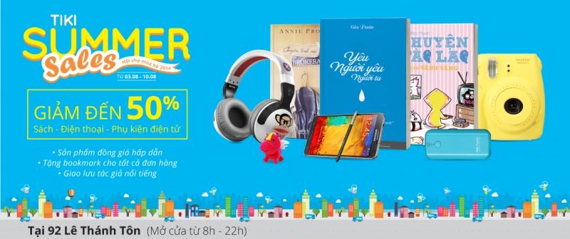 Trang mua sắm online TiKi
