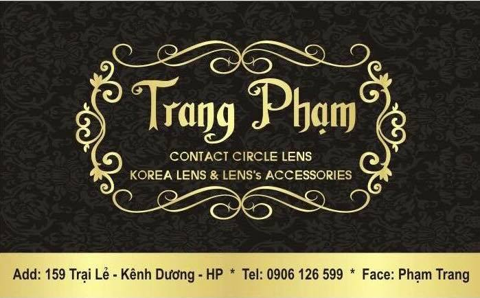 Trang Pham Contact Lens