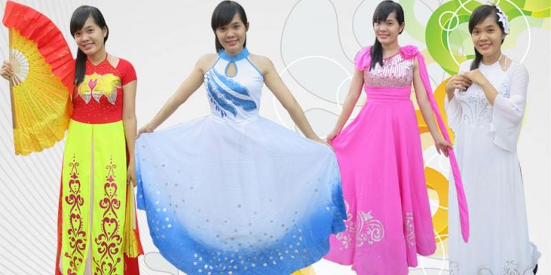 Trang phục biểu diễn Bông Sen
