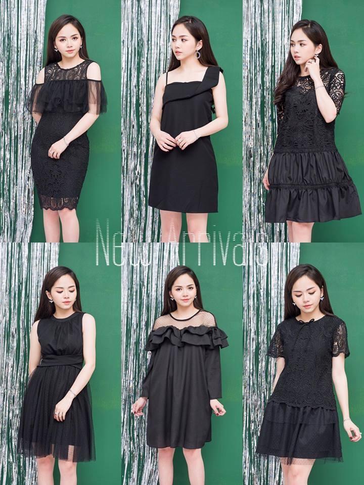 Bộ sưu tập váy đen của Trang Phùng Shop