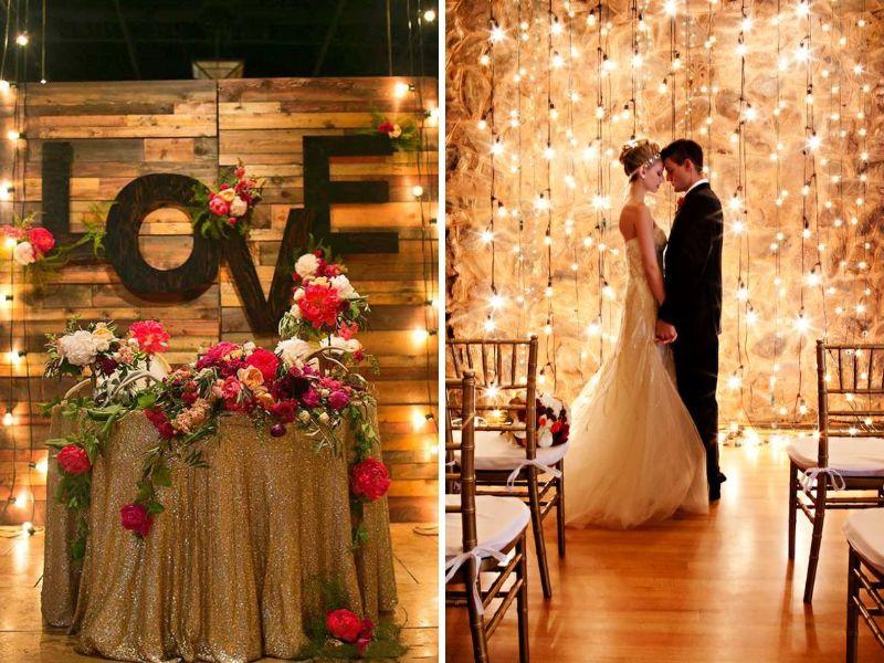 Không gì có thể lãng mạn hơn những ánh đèn sáng lung linh như này cả, đúng không?