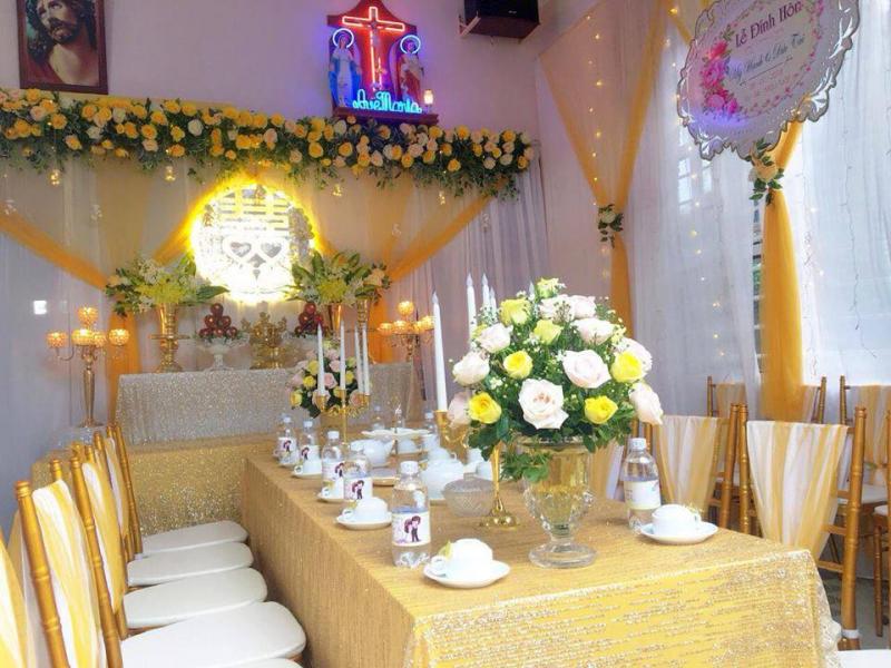 Trang Trí Gia Tiên Bmt- An Nhiên Wedding