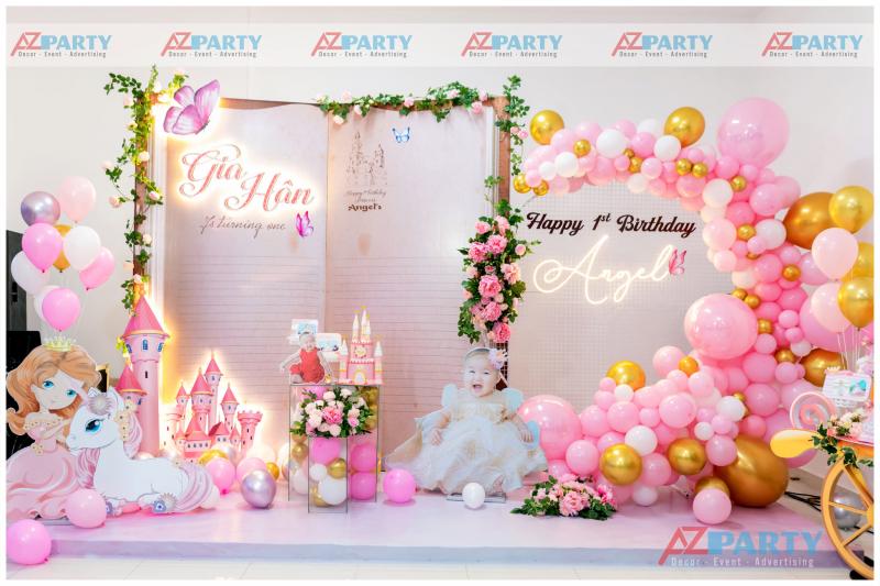 Trang trí sinh nhật Azparty