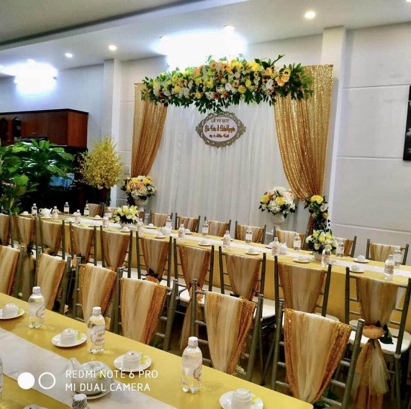 Trang Trí Tiệc Cưới Nguyễn Gia