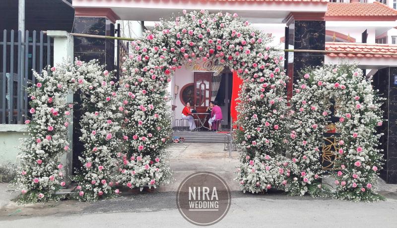 Trang Trí Tiệc Cưới Sài Gòn - Nira Wedding