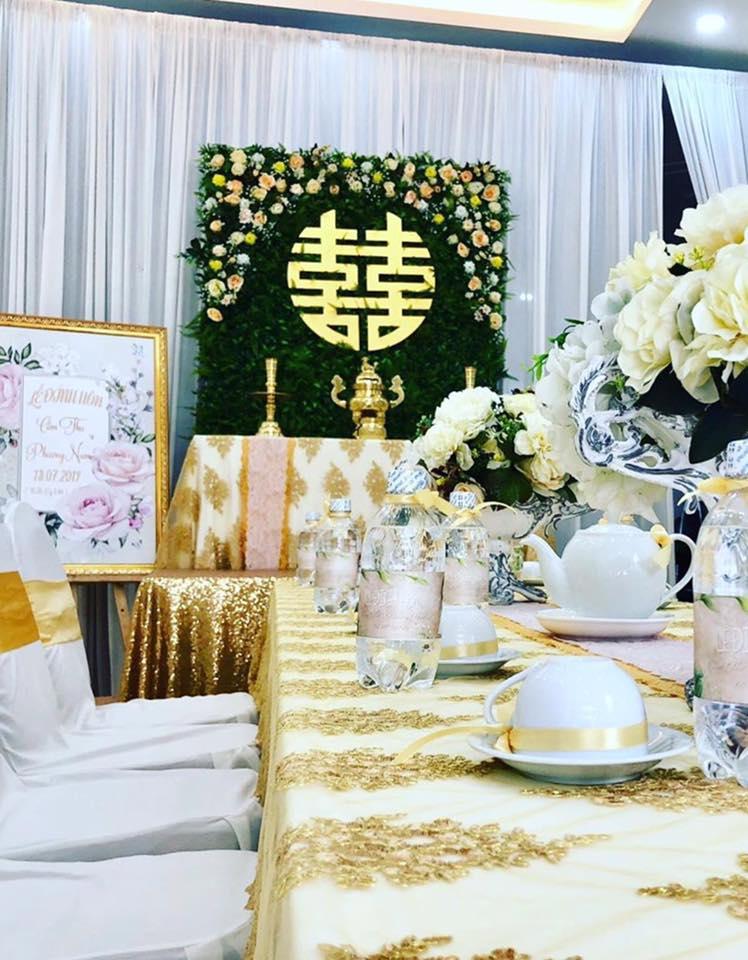 Trang trí tiệc cưới - sinh nhật Biên Hòa giá rẻ