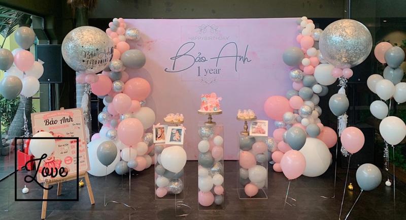 Trang trí tiệc - Như Ý Châu sẽ giúp các bé có một bữa tiệc sinh nhật ấm áp, hoành tráng ngay tại ngôi nhà
