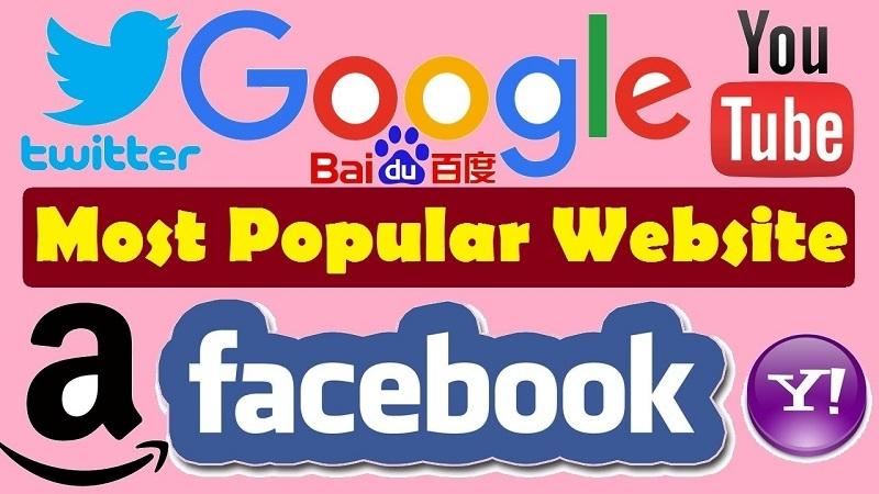Top 9 trang web được truy cập nhiều nhất thế giới