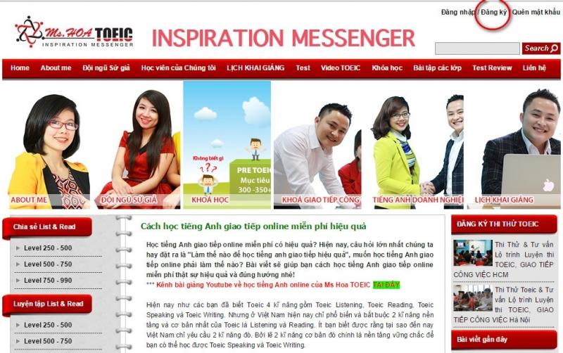 Mshoatoeic.com