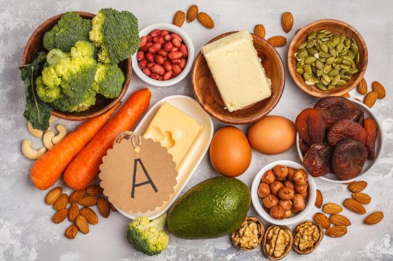 Vitamin A hỗ trợ cho sự phát triển tim, gan, phổi, thận và hệ thống thần kinh của bé