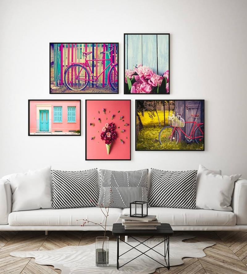 Tranh canvas trang trí - The Cozy House