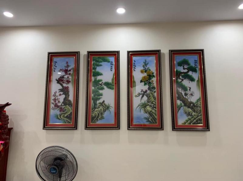 Tranh Đá Quý - Long Oanh