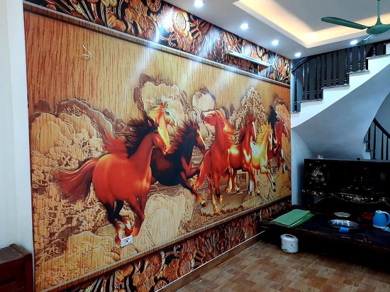 Tranh dán tường 3D Hà Nội Thành Đạt