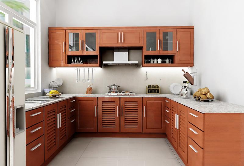 Tránh đặt bếp chỗ có xà ngang phía trên