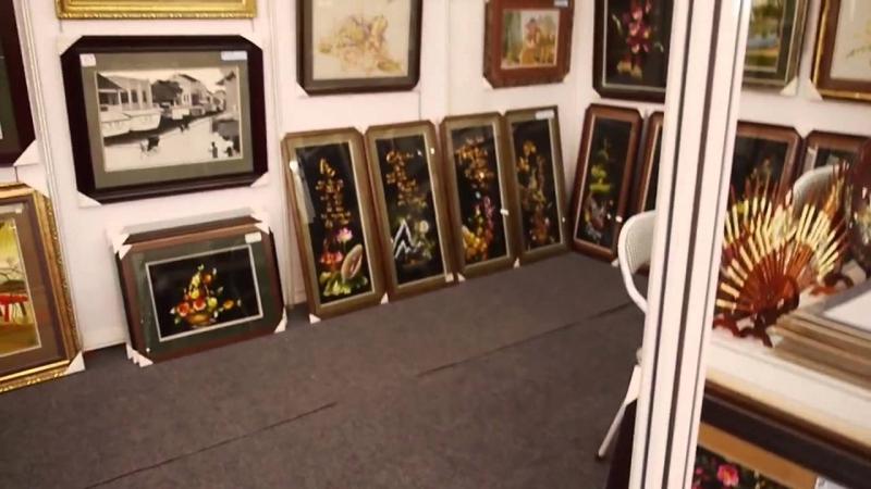 Những bức tranh thêu tay Xuân Nguyên
