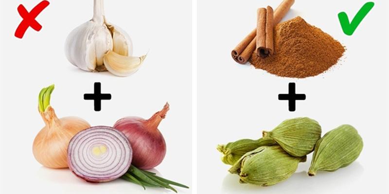 Tránh thực phẩm có mùi