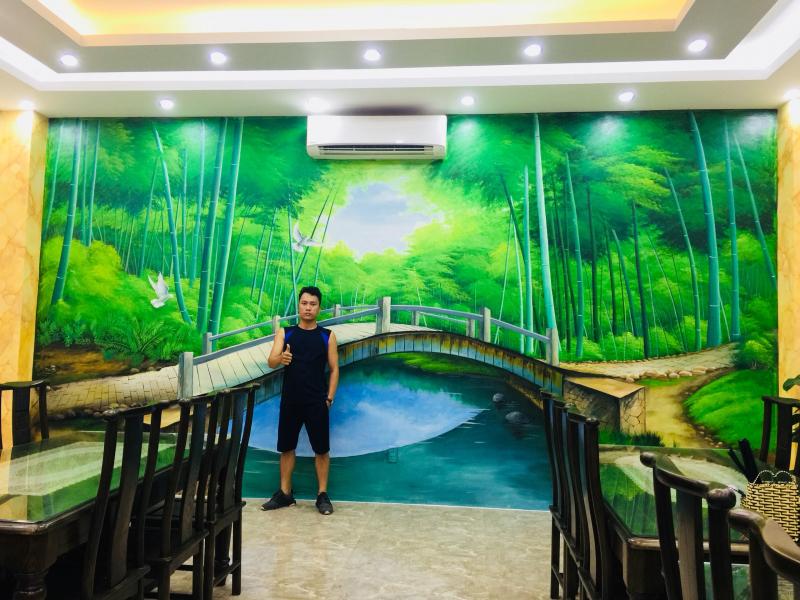 Tranh tường Duy Linh