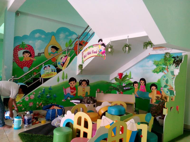 Tranh tường Sài Gòn