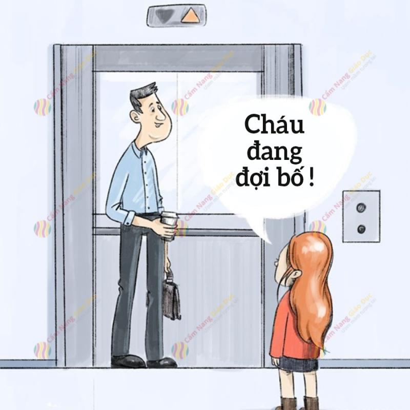Tránh vào thang máy với người lạ (ảnh minh họa)