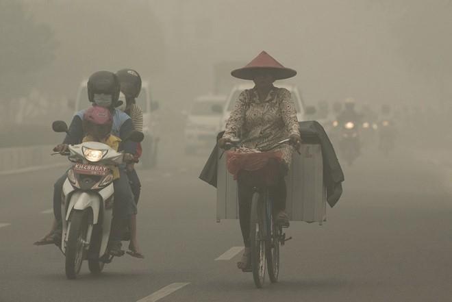 Với thời tiết khói bụi như thế này