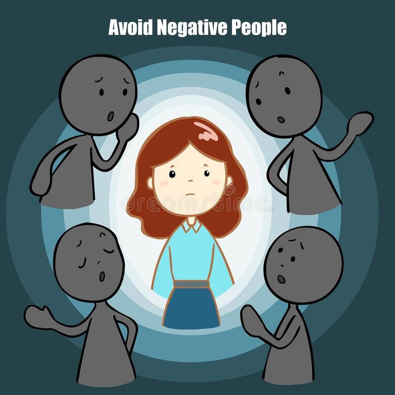 Tránh xa những người tiêu cực