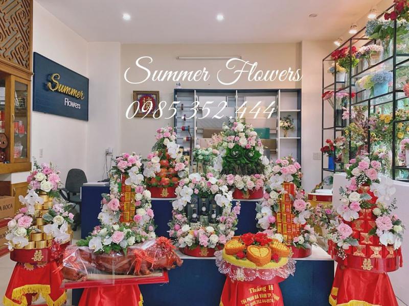Tráp Ăn Hỏi Đẹp Tại Thái Bình - Summer Flowers