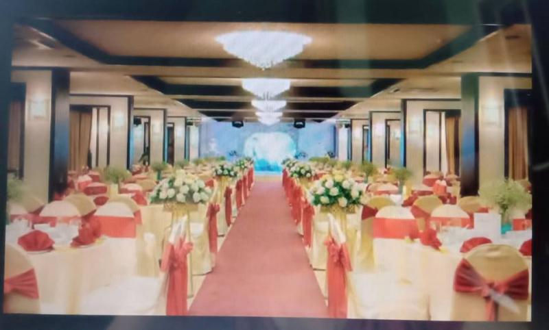 Không gian tiệc cưới Trầu Cau