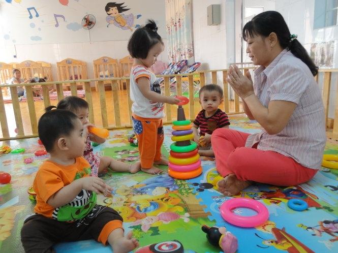 Trẻ không chỉ ăn, mà còn phải học