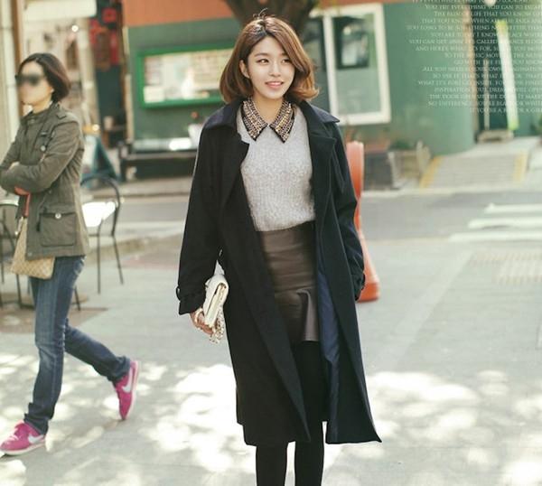 Trench coat được coi là loại áo truyền thống của mùa đông