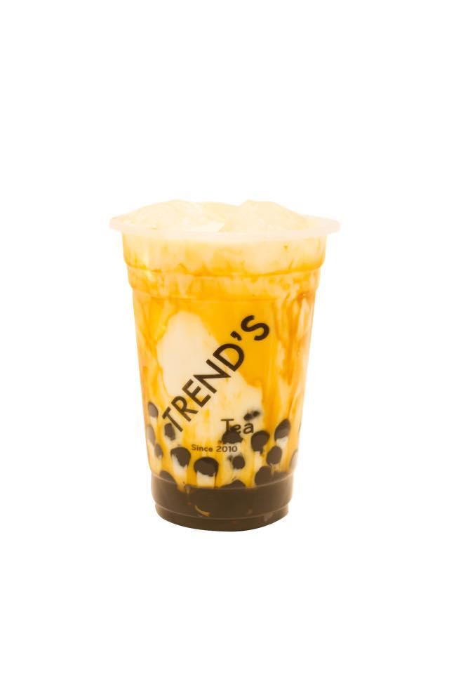 Sữa tươi trân châu đường đen Trend's Tea
