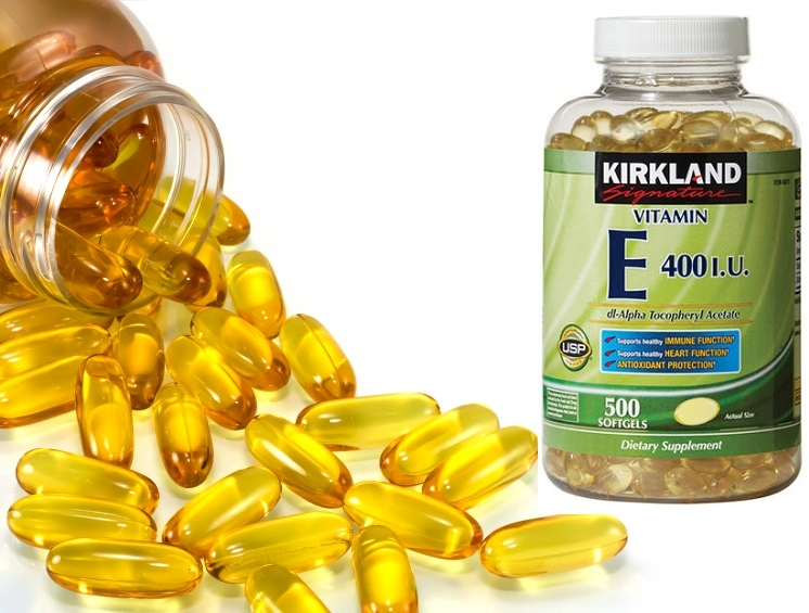 Vitamin E giúp giảm đau và nhanh lành vết bỏng