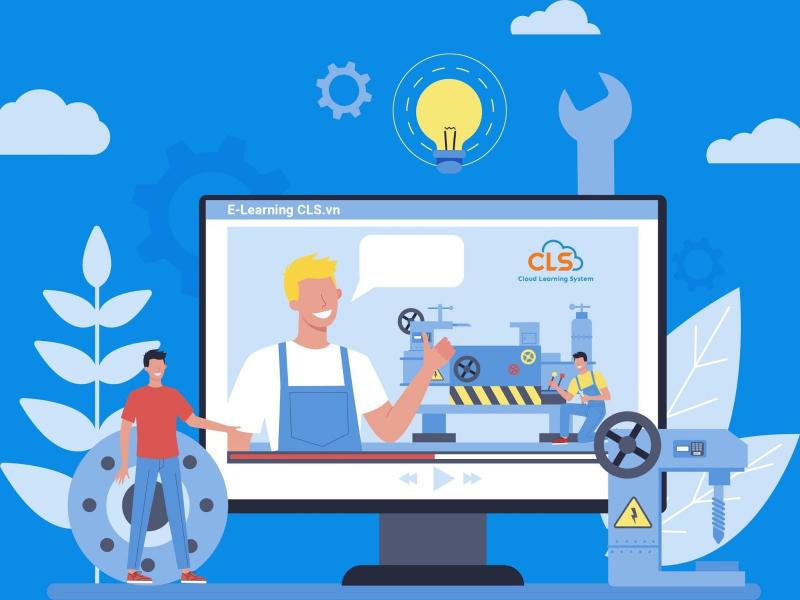 Triển khai E-Learning cho ngành sản xuất (Ảnh minh họa)