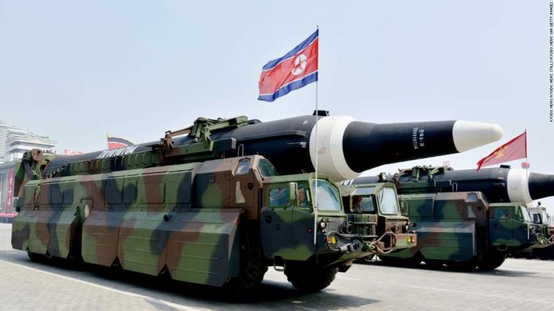 Triều Tiên thử thành công tên lửa Hwasong-15