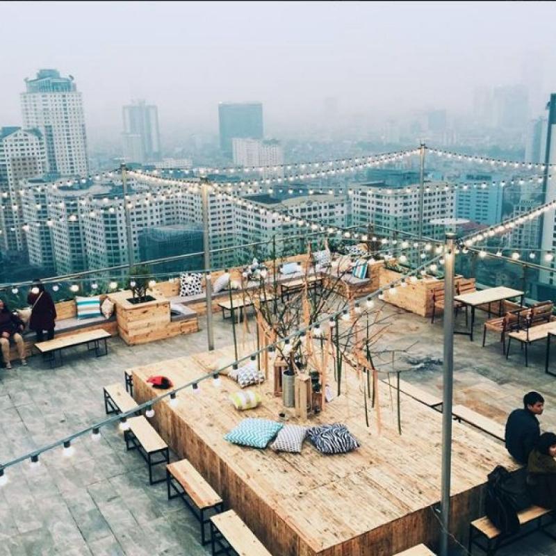 Trill Rooftop Café