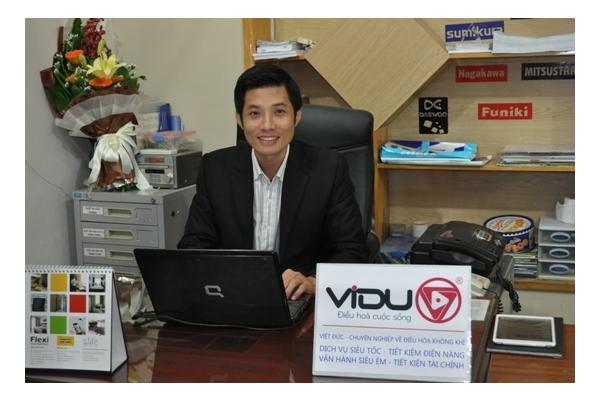 Trịnh Thế Đức giữ chức Giám đốc công ty Điện lạnh Việt Đức