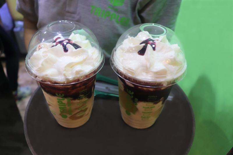 Triple Coffee & TeaLeaf