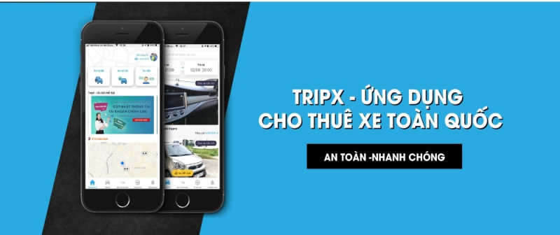 TripX - Thuê xe ô tô tự lái
