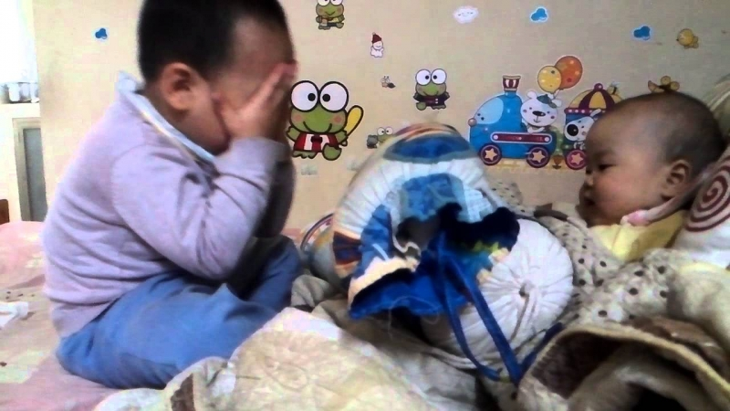 Trẻ rất thích thú khi chơi